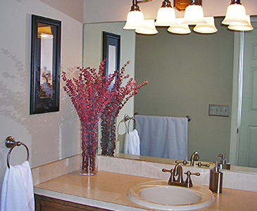 New York Bathroom After Staging