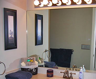 New York Bathroom Before Staging