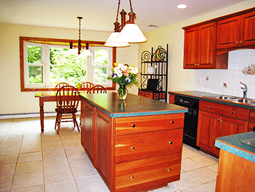 New York Kitchen After Staging