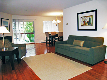 New York Living Room After Staging