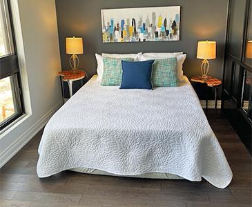 Oakville Before Bedroom Staging