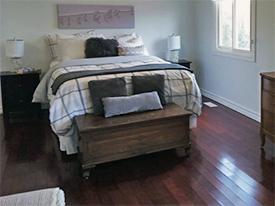 Oakville After Bedroom Staging