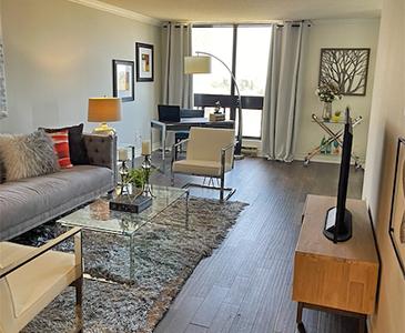 Oakville Before Livingroom Staging