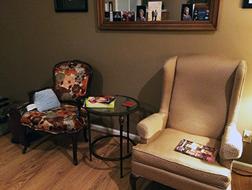 North Carolina Living Room Before