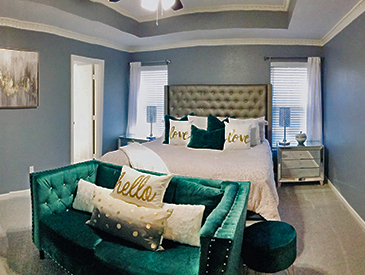 That's the Design Bedroom Staging