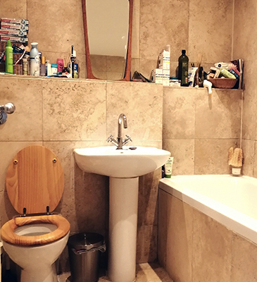 Room by Room Interiors Bathroom Staging