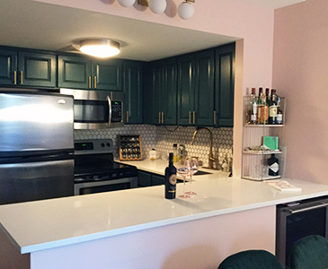 New York Kitchen Staging After