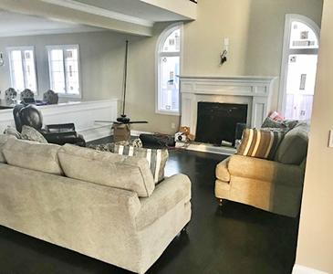 New York Living room Staging Before