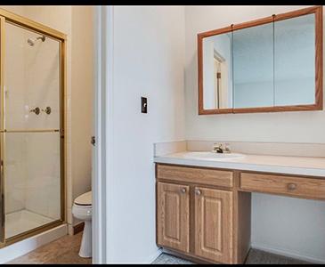 Renewed Perspective Bathroom Staging Before