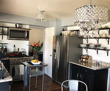Renewed Perspective Kitchen Staging Afer