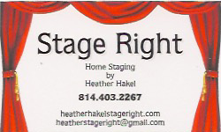 Staging Diva presents Stage Right by Heather Hakel, LLC